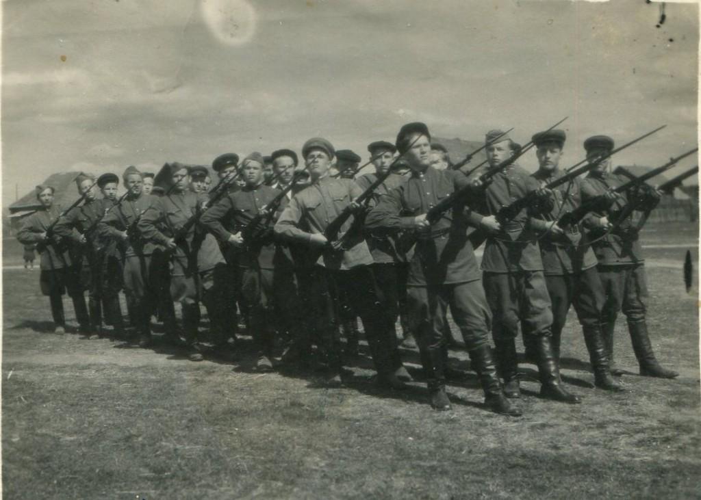 Начальная военная подготовка в Рамешковской школе
