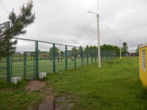 Спортивная площадка на территории Косковско-Горской школы