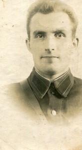 д. Вася в годы службы в НКВД. Последняя фотография из семейного архива
