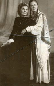 Институт, замужество, материнство